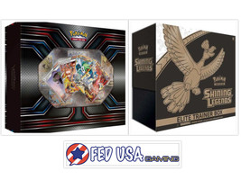 Pokemon TCG XY Premium Trainer's Kit Collection & Shining Legends Elite ... - $149.99