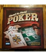 New Parker Brothers Head to Head Poker Game Hasbro 2005 Six Games - $24.99