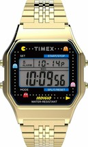 Just Launched - Timex T80 X Pac-Man Digital Grey Dial Unisex's Watch-TW2... - $142.99