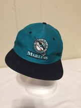 Florida Marlins Hat Cap Blue Snapback Fromt Row Clark Sportswear Genuine... - $6.92