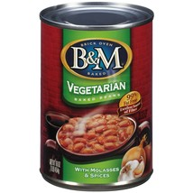 B&M Vegetarian Baked Beans, 16 Ounce Cans (Pack of 12) - $54.00