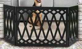 """Adjustable Extra Wide Pet Gate – 48"""" Freestanding Dog Gate - Pet Fence D... - $28.93"""