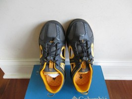 BNIB Columbia Supervent Hybrid shoes, boys, Grey/yellow, pick size - $35.00