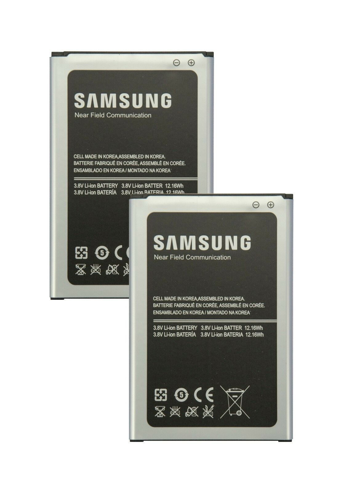 Primary image for 2X Authentic Samsung  Batteries B800BU 3200mAh for Galaxy Note 3 All Models