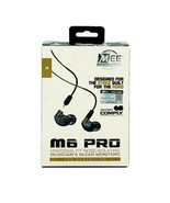 MEE Audio M6 Pro 2nd Generation Noise Isolating Musician's In-Ear Monitors - $43.04
