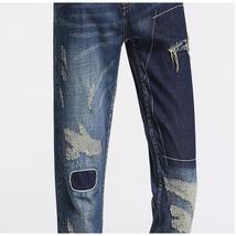 Sportsman fashion personality men's jeans image 10