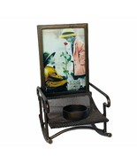 Pretty as Picture Kim Anderson figurine vtg Rocking chair candle holder ... - $48.33