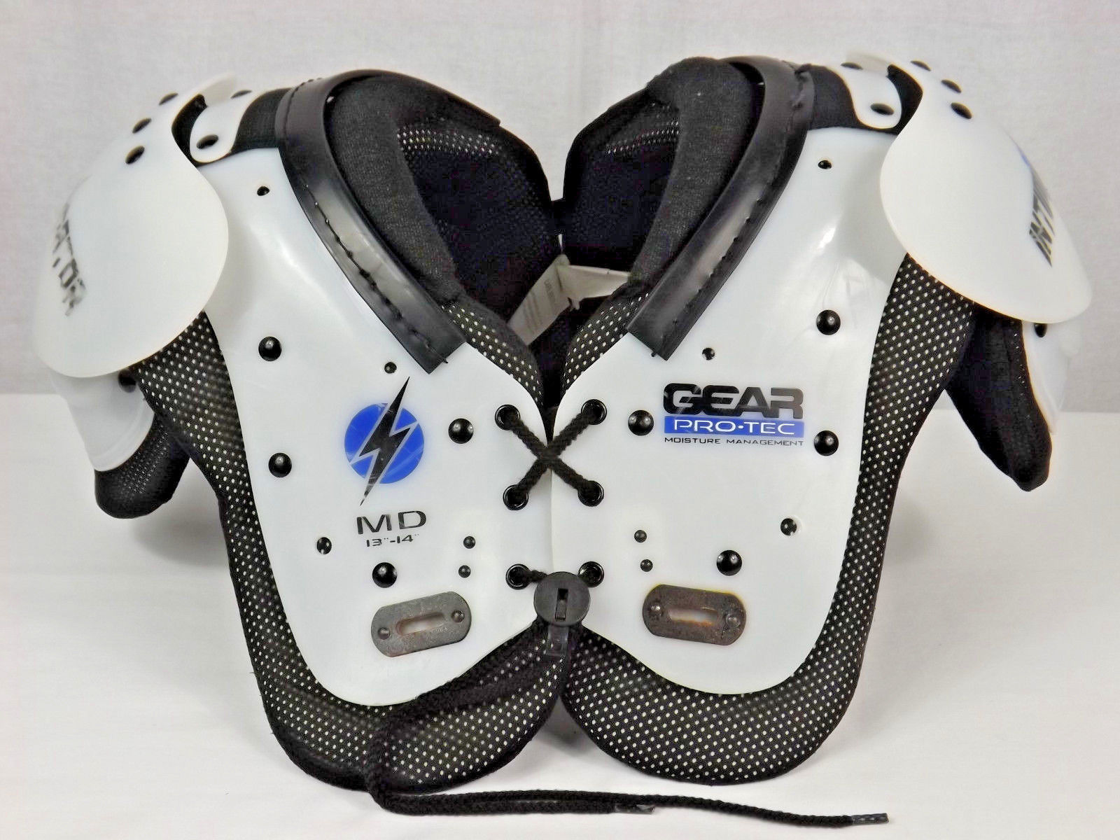 Primary image for Intimidator Shoulder Pads by GEAR Pro-Tec Moisture Management - 95-120 Pounds