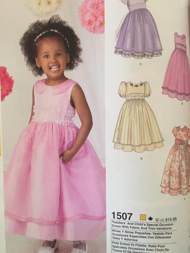 02fb0b1f5b5 Simplicity Sewing Pattern 1507 Girl Toddlers and 50 similar items