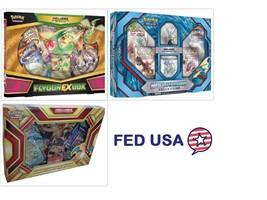 POKEMON TCG (3) Collection Boxes: Flygon EX, Charizard EX, Mega Gyarados... - $74.50