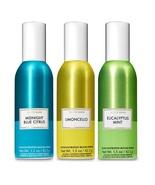 Bath & Body Works Room Spray 3 Pack- Limoncello Eucalyptus Midnight Blue... - $25.99