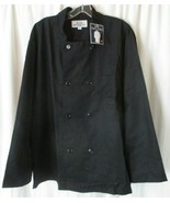 Ritz Pro Series Double Breasted Chefs Jacket's Black  Sz L 45% Poly 55% ... - $17.81
