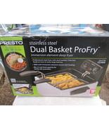 Presto Stainless Steel Dual Basket Pro Fry 05466 - $59.00