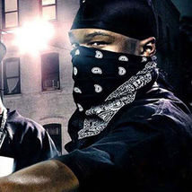 1PC Unisex Hip Hop Black Paisley Bandana Headwear Hair Band Scarf Neck Wrist Wra image 6