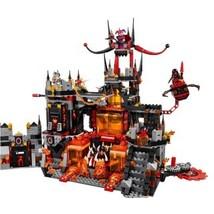 Lepin 14019 Jestro's Volcano Lair HEROES Block Set (1244pcs) - $58.00