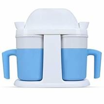 Ice Cream Machine, HoLead Mini Ice Cream Machine Mug Design Double Cup S... - €67,78 EUR