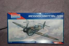 Monogram 1/48 Messerschmitt ME-109G Sealed - $15.99