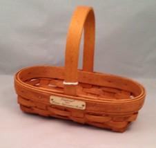 Longaberger 1994 Hostess Appreciation Basket w/ Protector - $17.59