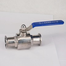 """1-1/2"""" 38mm 304 Stainless Steel Sanitary Ball Valve 1.5"""" Tri Clamp Ferrule Type - $35.95"""