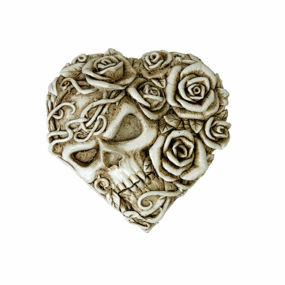 Alchemy Of England Gothique Fate de Narcisse Rose Crâne Maquillage Miroir image 2