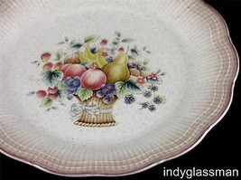Mikasa Grand Manner WELCOME Salad Plate (6 left) - $4.22