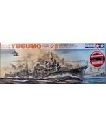 Tamiya 1/350 Japanese Navy Destroyer YUGUMO Motorized Model Kit 89734 - $69.30