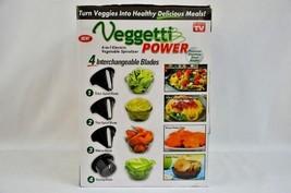 Electric Vegetable Veggie Spiralizer Healthy Vegetarian Meals Veggetti P... - €19,33 EUR