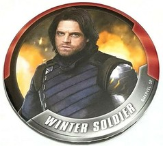 Marvel Avengers WINTER SOLDIER Bucky Barnes 2.75 inches Pinback Button - $4.21