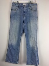 American Eagle Jeans Bootcut Men Distressed 30x30 Blue Denim Cotton - $16.15