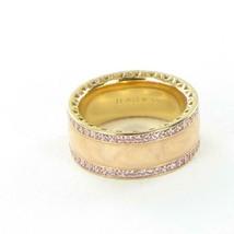 Pandora ROSE Hearts Of PANDORA Pink CZs Enamel Ring 181024EN95-54 Sz 7 N... - $96.99
