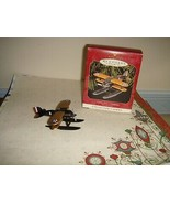 Hallmark 1999 Curtiss R#C-2 Seaplane Sky's The Limit #3 In Series Orname... - $13.49
