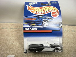L37 Mattel Hot Wheels 27097 '63 T-BIRD New On Card - $3.87