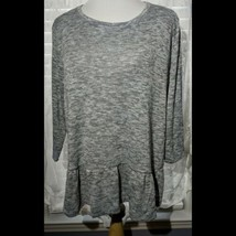 Nwot St. Johns Bay Gray Sweater Top Size XL - $17.81