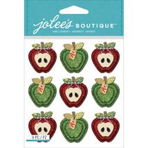 Jolee's Mini Repeats Stickers-Apples - $8.98