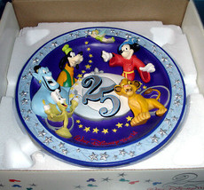 Walt Disney World 25th Anniversary 3-D Plate 1996 Magical Time in Magica... - $23.90