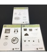 Stampin Up! 123211 Punch Bunch, 121982 Create a Cupcake,132929 Stamps Ne... - $19.62