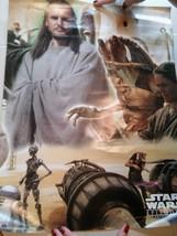 """STAR WARS Episode 1 The Phantom Menace Poster 22""""x17"""" No Frame GUC No Pi... - $11.01"""