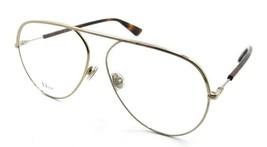 Christian Dior Eyeglasses Frames Dior Essence 15 J5G 58-12-145 Gold Italy - $196.00