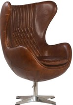 Egg Chair DOVETAIL BASCO Antique Brown New DT-904 FREE - $3,729.00