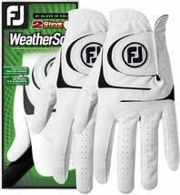 FootJoy WeatherSof 2 Men's Golf Glove Regular Left, X-Large 66152 * - $18.69