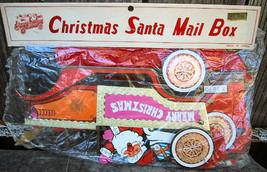 Kurt Adler Christmas Decoration Santa Mailbox Trucks Two 3D Vintage - €11,09 EUR