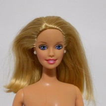 Barbie Doll Blonde Hair Smiling Face Collectible 1990s - $17.81