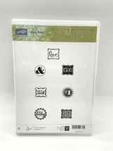 Stampin' Up! 129648 Stamp Set Ciao Baby 7 pieces   - $14.75