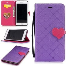 iPhone 7 Plus Case for Women Girls,XYX [Love Buckle][Kickstand][Card Slo... - $3.95