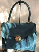 Marc Jacobs Green Suede Handbag $495 - $207.42