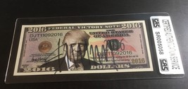 "PRESIDENT DONALD TRUMP - AUTOGRAPHED ""FEDERAL VICTORY NOTE"" IN HOLDER - ... - $138.55"