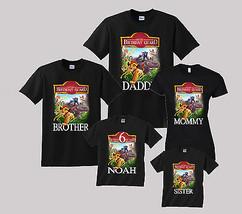 Lion Guard Birthday Shirt Personalized Custom T-Shirt Family Black shirts - $19.95+