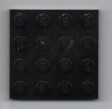 Black LEGO 4x4 Plate -  Basic Building Set. - $0.98