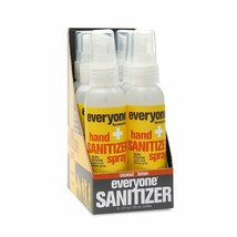Everyone Hand Sanitizer Spray: Coconut and Lemon, Travel Size, 2 Ounce, ... - $23.71