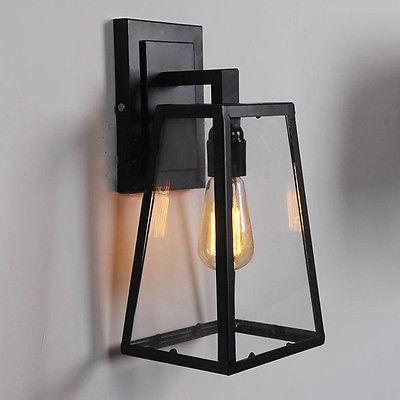 Modern Filament Sconce E27 Light Wall Lamp Restoration Home Lighting Fixture